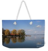 Lake Reflection Weekender Tote Bag