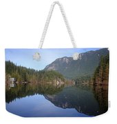 Buntzen Lake, Bc Reflections Weekender Tote Bag