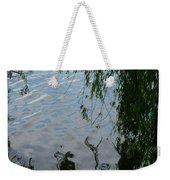 Lake Reflections Of Blue Weekender Tote Bag