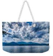 Lake Santeetlah In Great Smoky Mountains Nc Weekender Tote Bag