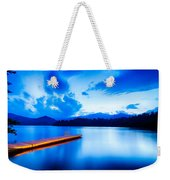 Lake Santeetlah In Great Smoky Mountains North Carolina Weekender Tote Bag