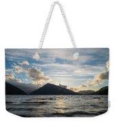 Lake Side Weekender Tote Bag