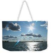 Lake St. Clair Sunset Weekender Tote Bag