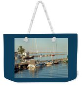 View Of The Harbor Weekender Tote Bag