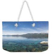 Lake Tahoe Calm Weekender Tote Bag