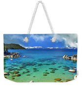 Lake Tahoe Cove Weekender Tote Bag