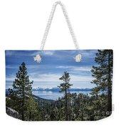 Lake Tahoe Weekender Tote Bag