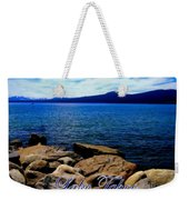 Lake Tahoe Magic Weekender Tote Bag