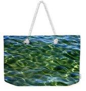 Lake Tahoe Swirls Abstract Weekender Tote Bag