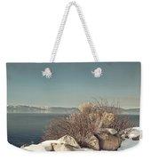 Lake Tahoe Winter Weekender Tote Bag