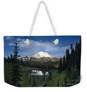 Lake Tipsoo Reflections Weekender Tote Bag