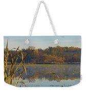 Lake Towhee In Autumn Weekender Tote Bag