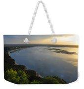 Lake Travis Sunset Weekender Tote Bag