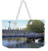 Lake Union Park Weekender Tote Bag
