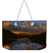 Lake View 2 Weekender Tote Bag