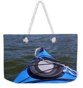 Lake View From Kayak Weekender Tote Bag