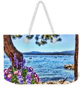 Lake View On Lake Tahoe By Diana Sainz Weekender Tote Bag