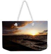 Lake Waconia Sunset Weekender Tote Bag