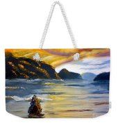 Lake Wahatipu Queenstown Nz Weekender Tote Bag