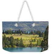 Lake Wakatipu And Queenstown Golf Course Weekender Tote Bag