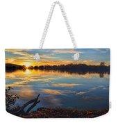 Memorial Park Sunset Weekender Tote Bag