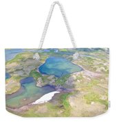 Lakes From The Seaplane In Katmai National Preserve-alaska Weekender Tote Bag