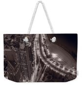 Lakeshore Drive Aloft Bw Warm Weekender Tote Bag
