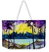 Lakeside Weekender Tote Bag