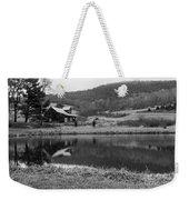 Lakeside Cabin Weekender Tote Bag