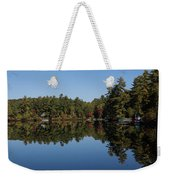 Lakeside Cottage Living - Reflecting On Relaxation Weekender Tote Bag