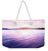 Lakeside Sunset Weekender Tote Bag by Shana Rowe Jackson