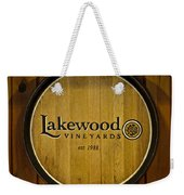 Lakewood Vineyards Weekender Tote Bag