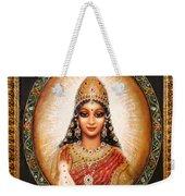 Lakshmi Goddess Of Abundance Weekender Tote Bag