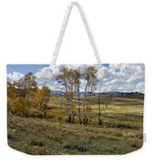 Lamar Valley In The Fall - Yellowstone Weekender Tote Bag
