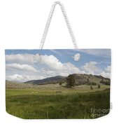 Lamar Valley No. 2 Weekender Tote Bag