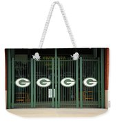 Lambeau Field - Green Bay Packers Weekender Tote Bag