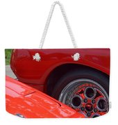 Lamborghini And Lotus Weekender Tote Bag