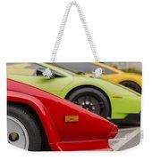 Lamborghini Countach Nose Weekender Tote Bag