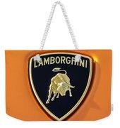 Lamborghini Emblem -0525c55 Weekender Tote Bag