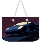 Lamborghini Murcielago - Pop Art Weekender Tote Bag