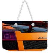 Lamborghini Rear View 2 Weekender Tote Bag