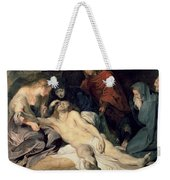 Lament Of Christ Weekender Tote Bag
