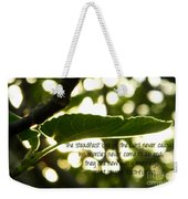 Lamentations 3 Weekender Tote Bag