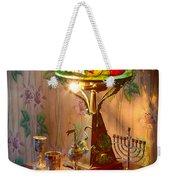 Lamp And Menorah Weekender Tote Bag