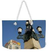 Lamp Post, China Weekender Tote Bag