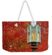 Lamp Post In Fall Weekender Tote Bag