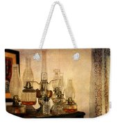 Lamps And Lace Weekender Tote Bag