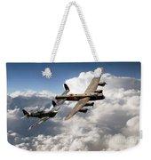 Lancaster And Spitfire  Weekender Tote Bag