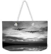 Lancasters Return Mono Version  Weekender Tote Bag