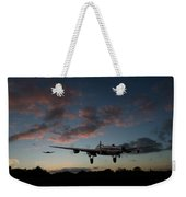 Lancasters Taking Off At Sunset Weekender Tote Bag
